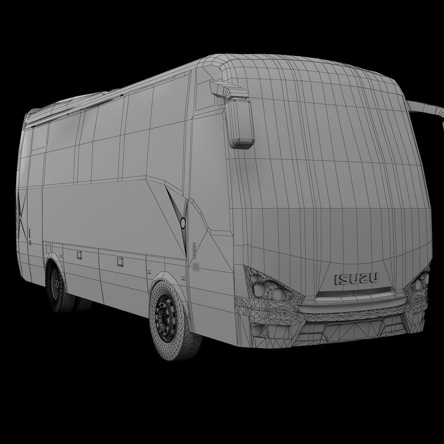 Isuzu Turkuaz royalty-free 3d model - Preview no. 8