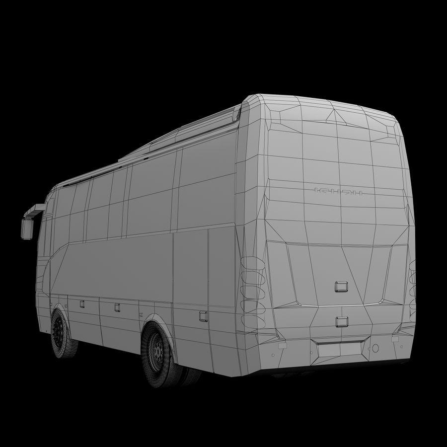 Isuzu Turkuaz royalty-free 3d model - Preview no. 9
