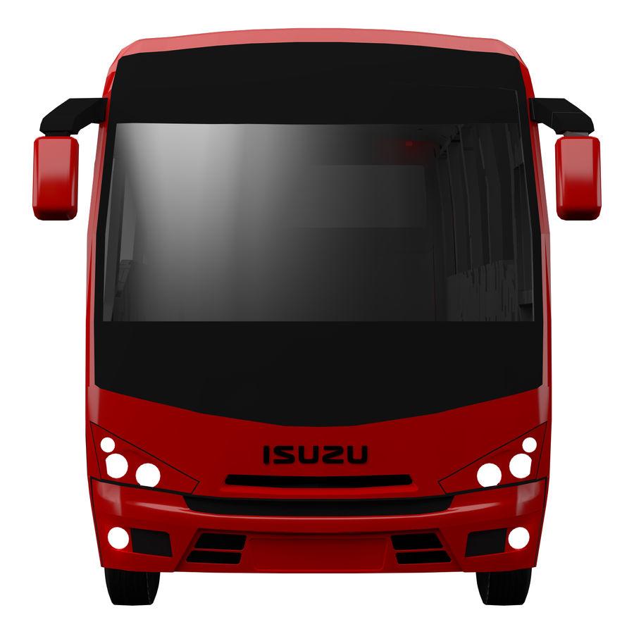Isuzu Turkuaz royalty-free 3d model - Preview no. 2