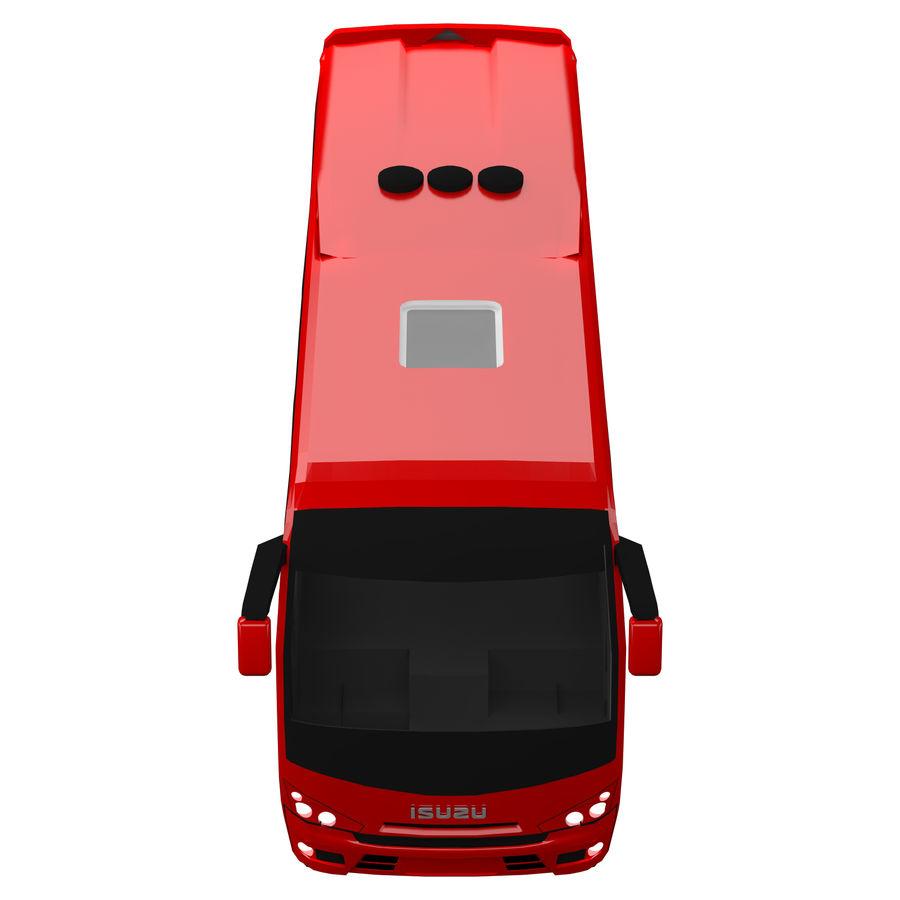 Isuzu Turkuaz royalty-free 3d model - Preview no. 7