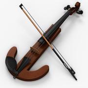 Elektrische viool 5 3d model
