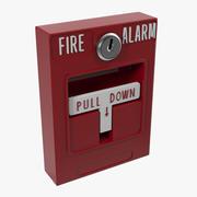 Пожарная сигнализация 3 универсальная 3d model