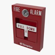 Allarme antincendio 3 3d model