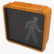 Walk Signal 3d model