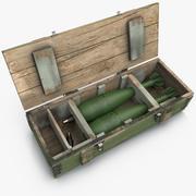 Ammunition Box 120mm 3d model