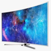 三星SUHD TV JS9000 01 3d model