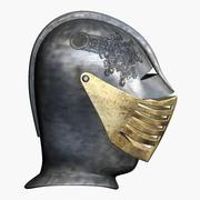 中世のヘルメット3 3d model