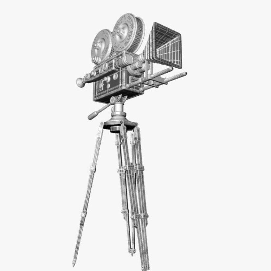 Vintage Movie Camera royalty-free 3d model - Preview no. 10