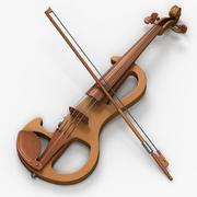 Violino elettrico 3d model