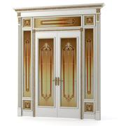 Luxury Double Door 3d model