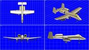 A-10A Warthog Aircraft Solid Assembly Model 3d model