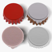 Obrusy (okrągłe) 3d model