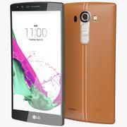 LG G4 Läderbrunt 3d model