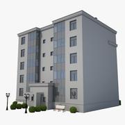 Pequeno edifício 04 3d model