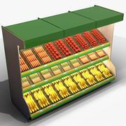 Vegetabilisk Regal (1) 3d model