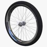 Rueda de bicicleta modelo 3d