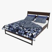 Ikea Trysil & Smorboll Bedroom Set 3d model