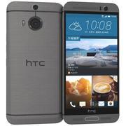 HTC One M9+ Gunmetal Gray 3d model