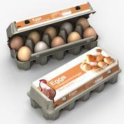 Pudełko na jajka 3d model