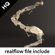 splash realflow modelo 3d