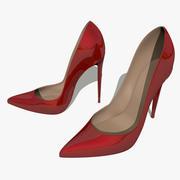 Туфли на высоком каблуке 3d model