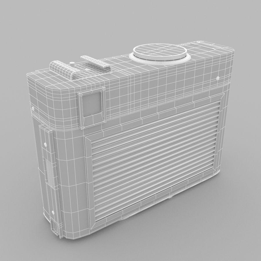 苏联相机Chaika 3 royalty-free 3d model - Preview no. 7