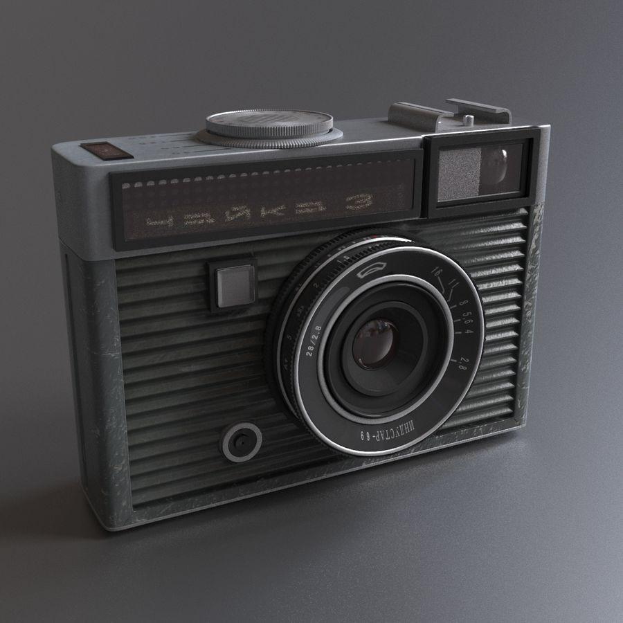 苏联相机Chaika 3 royalty-free 3d model - Preview no. 2