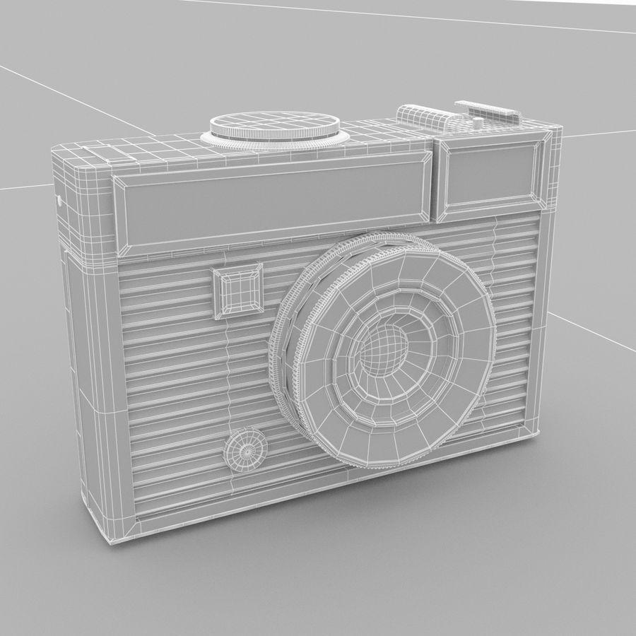 苏联相机Chaika 3 royalty-free 3d model - Preview no. 6