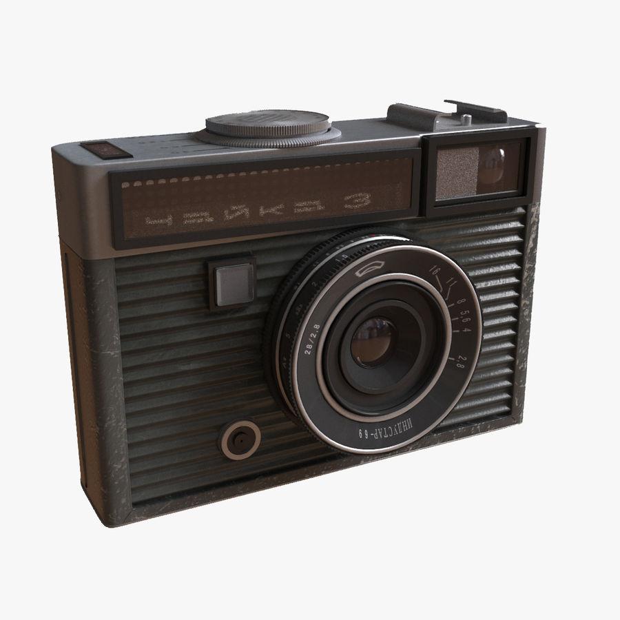 苏联相机Chaika 3 royalty-free 3d model - Preview no. 1