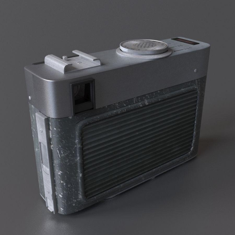 苏联相机Chaika 3 royalty-free 3d model - Preview no. 4