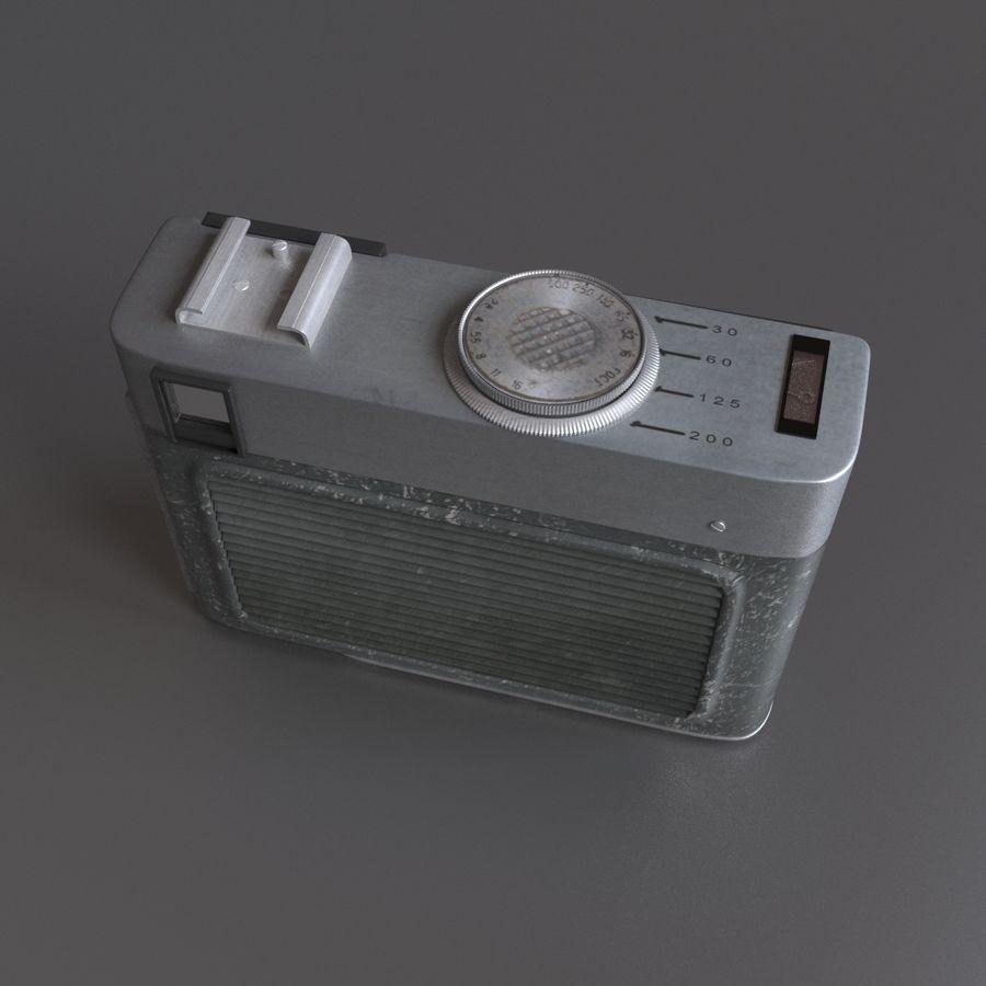 苏联相机Chaika 3 royalty-free 3d model - Preview no. 5