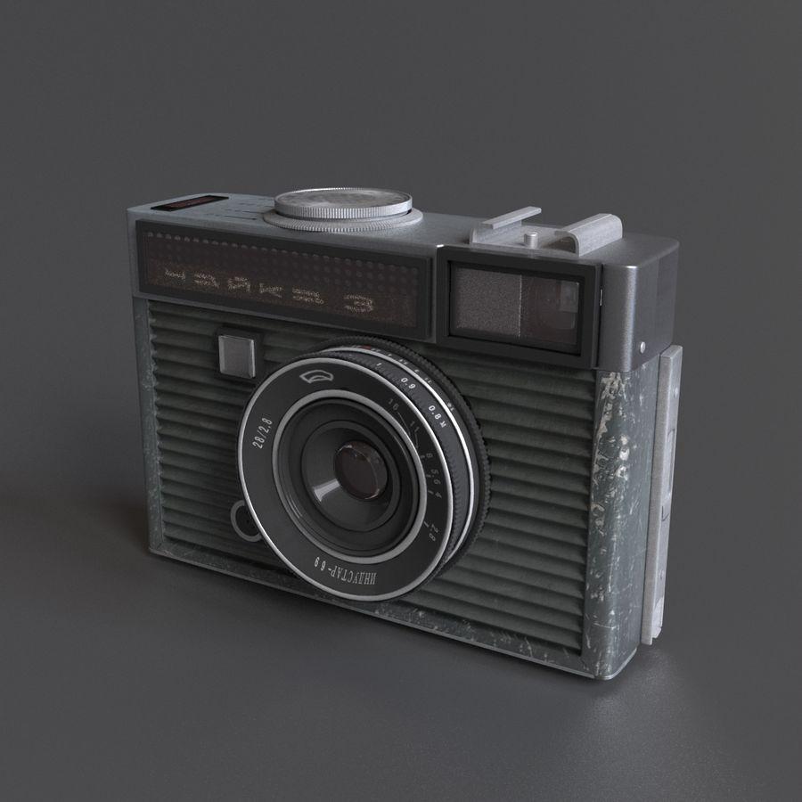 苏联相机Chaika 3 royalty-free 3d model - Preview no. 3