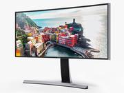Monitor curvo LED Samsung Ultra WQHD da 34 pollici 3d model