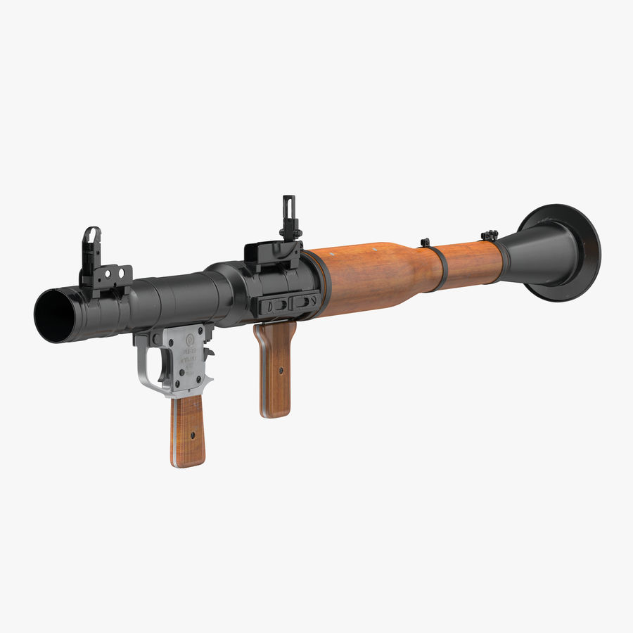 Portable Grenade Launcher RPG-7 3D 모델 royalty-free 3d model - Preview no. 1