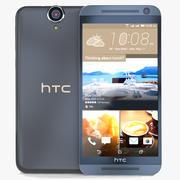 HTC One E9+Meteor Gray 3d model