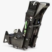 ACES II 배출 시트 3d model
