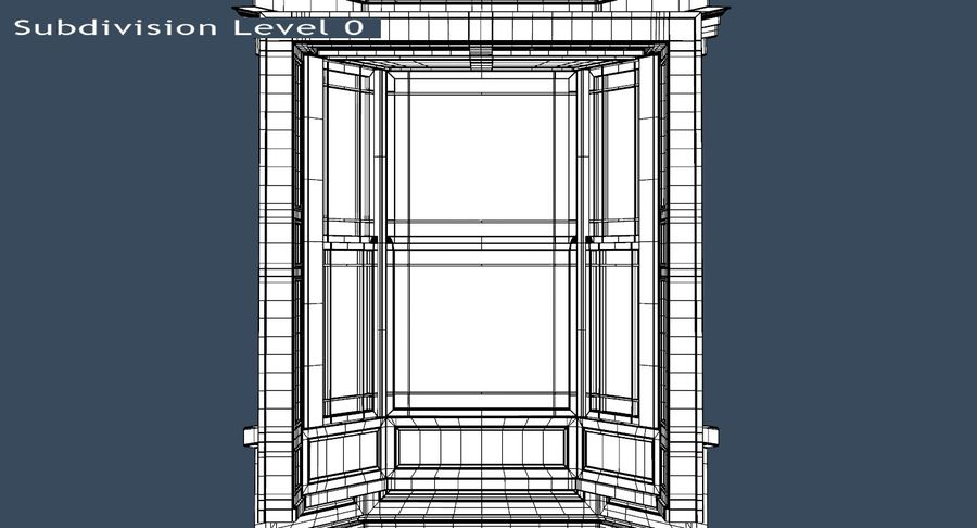 Victorian Bay Window royalty-free 3d model - Preview no. 32