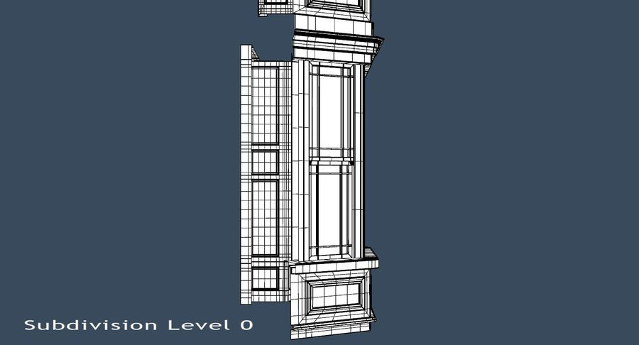 Victorian Bay Window royalty-free 3d model - Preview no. 23