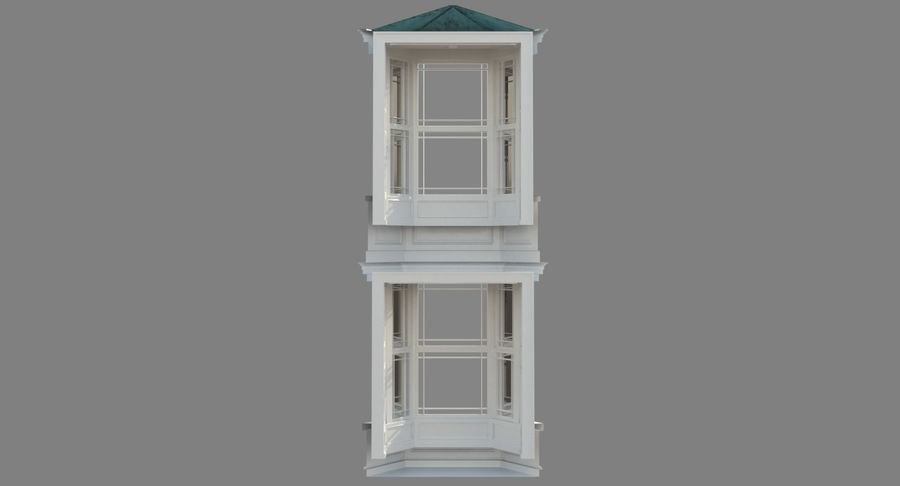 Victorian Bay Window royalty-free 3d model - Preview no. 25