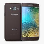 Samsung Galaxy E7 Brown 3d model
