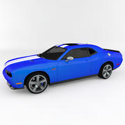 Dodge Challenger SRT8 HEMI 3d model