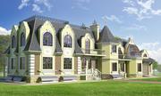 巴洛克式的房子 3d model