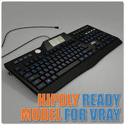 HighRes Gaming-Tastatur 3d model