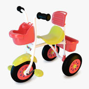 Plastic Tricycle 3d model