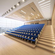 Sala conferenze 3d model