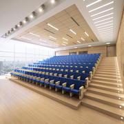 Konferenshall 3d model