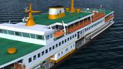Istanbul Ferry 3d model