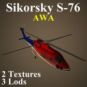 S76 AWA 3d model