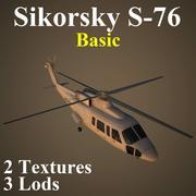 S76 Basic 3d model