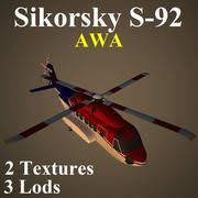 S92 AWA 3d model